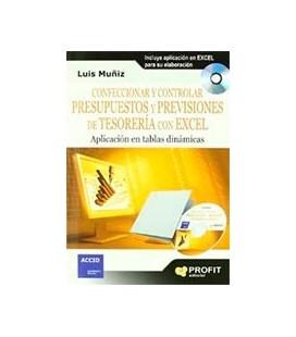 CONFECCIONAR Y CONTROLAR PRESUPUESTOS Y PREVISIONES DE TESORERIA (+CD)