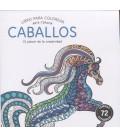CABALLOS (LIBRO PARA COLOREAR)