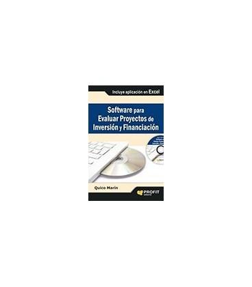 SOFTWARE PARA EVALUAR PROYECTOS DE INVERSION Y FINANCIACION (LIBRO+CD)