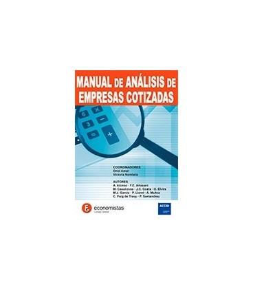 MANUAL DE ANALISIS DE EMPRESAS COTIZADAS
