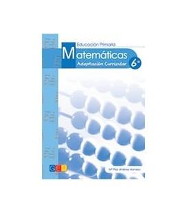 MATEMATICAS ADAPTACION CURRICULAR 6