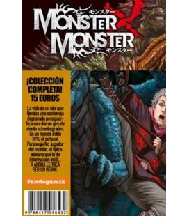 MONSTER X MONSTER (OBRA COMPLETA 3 TOMOS)