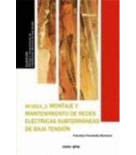 MONTAJE Y MANTENIMIENTO DE REDES ELECTRICAS SUBTERRANEAS DE ALTA TENS