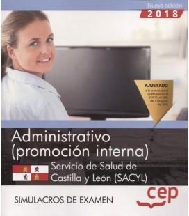 ADMINI SACYL SERVICIO DE SALUD DE CASTILLA Y LEON PROM INTER SIM EXAME