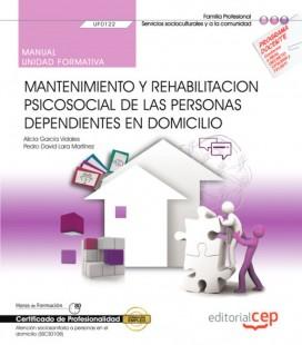 MANUAL MANTENIMIENTO Y REHABILITACION PSICOSOCIAL PERSONAS DEPENDIENTE