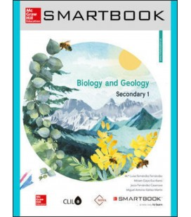 BIOLOGY AND GEOLOGY 1 ESO NOVA CLIL INCLUDES CODE SMARTBOOK