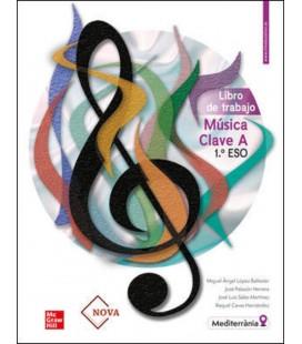 MUSICA CLAVE A 1 ESO LIBRO DE TRABAJO (CASTELLANO) PARA VALENCIA