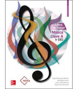 MUSICA CLAVE A 1R ESO LLIBRE DE TREBALL (VALENCIA) ED 2019