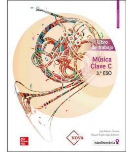 MUSICA CLAVE B 3 ESO LIBRO DE TRABAJO (CASTELLANO) PARA VALENCIA