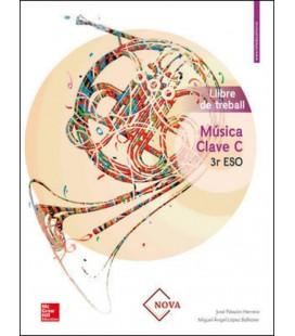 MUSICA CLAVE B 3R ESO LLIBRE DE TREBALL (VALENCIA)