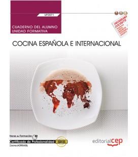 CUADERNO DEL ALUMNO COCINA ESPAÑOLA E INTERNACIONAL UF0071