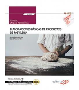 MANUAL ELABORACIONES BASICAS DE PRODUCTOS DE PASTELERIA