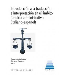 INTRODUCCION A LA TRADUCCION E INTERPRETACION EN EL AMBITO JURIDICO
