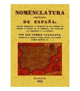 NOMENCLATURA GEOGRAFICA DE ESPAÑA