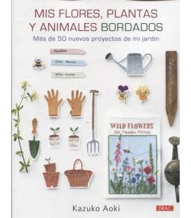 MIS FLORES PLANTAS Y ANIMALES BORDADOS