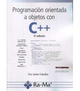 PROGRAMACION ORIENTADA A OBJETOS CON C++ 5 ED