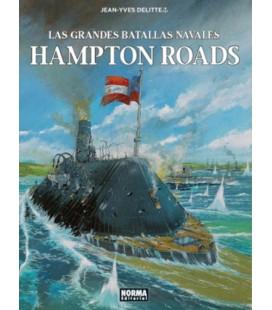 GRANDES BATALLAS NAVALES 06 HAMPTON ROADS