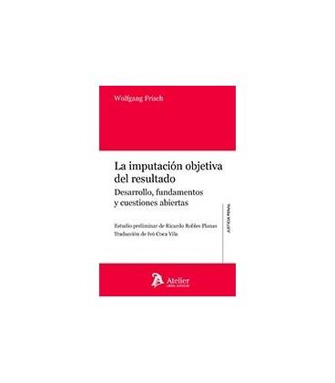 IMPUTACION OBJETIVA DEL RESULTADO (DESARROLLO FUNDAMENTOS)