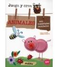 JUEGA Y CREA ANIMALES CON MATERIALES RECICLADOS