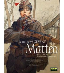 MATTEO QUINTA EPOCA SEPTIEMBRE 1936 - ENERO 1939