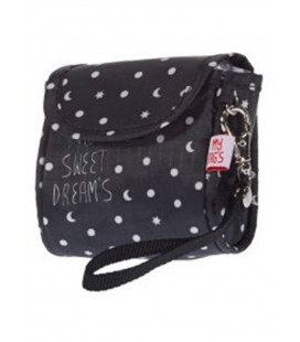 PORTACHUPETES NYLON SWD NEGRO (MY SWEET DREAMS)