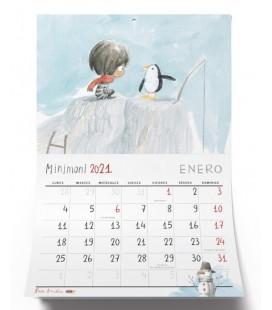 CALENDARIO MINIMONI Y SUS AMIGOS 2021