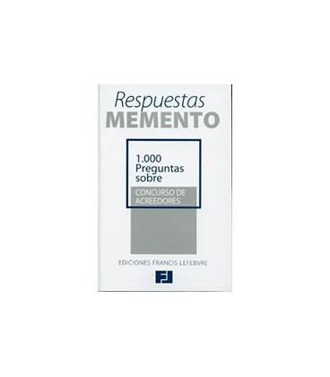1000 PREGUNTAS SOBRE CONCURSO DE ACREEDORES