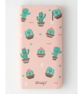 BATERIA POWER BANK 4000 MAH MINI CACTUS