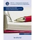 OPERACIONES DE ALMACEN DE PRODUCTOS QUIMICOS Y RELACIONADOS QUIE0308
