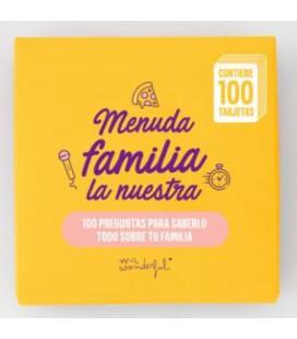 JUEGO DE CARTAS MENUDA FAMILIA LA NUESTRA! (FAMILIA)