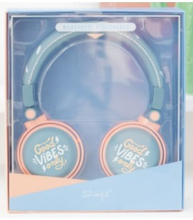 AURICULARES GOOD VIBES ONLY (ENG)