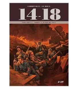 14-18 VOL. 4 (ABRIL Y JUNIO DE 1917)