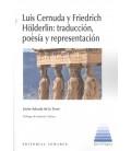 LUIS CERNUDA Y FRIEDRICH HOLDERLIN TRADUCCION POESIA Y REPR