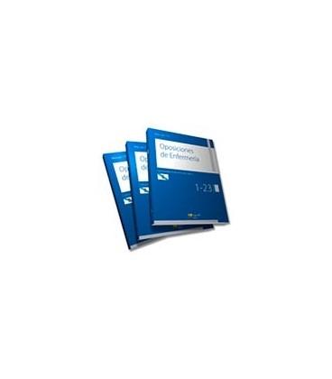 MANUAL CTO DE OPOSICIONES DE ENFERMERIA GALICIA (3 vols)