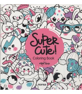 SUPER CUTE COLORING BOOK