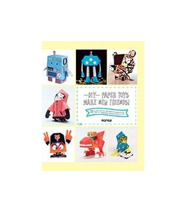 DIY PAPER TOYS MAKE NEW FRIENDS 32 NEW TEMPLATES PRINTEFD IN HIGH