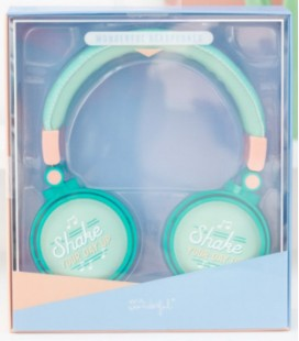 AURICULARES SHAKE YOUR DAY UP (ENG)