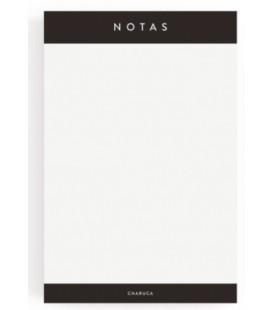 BLOC DE NOTAS 100% PRODUCTIVIDAD CHARUCA