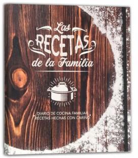 LIBRO DE RECETAS DE LA FAMILIA VINTAGE