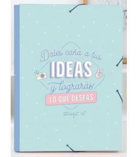 CARPETA SEPARADORA DALES CAÑA A TUS IDEAS Y LOGRARAS LO QUE DESEAS