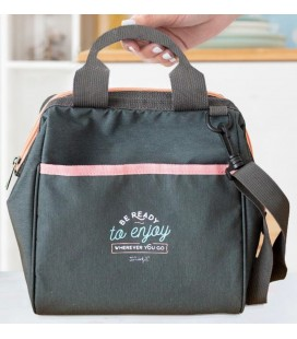BOLSA PORTA ALIMENTOS BE READY TO ENJOY WHEREVER YOU GO
