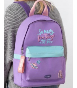 MOCHILA SO MANY FUN THINGS TO DO (ENG)