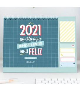 CALENDARIO DE SOBREMESA 2021 YA ESTAS AQUI