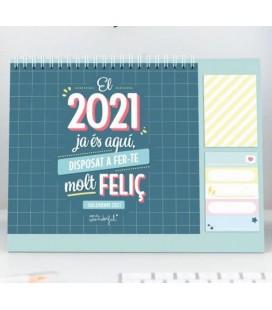 CALENDARI DE SOBRETAULA EL 2021 JA ES AQUI (CATALAN)