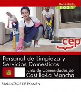PERSONAL DE LIMPIEZA Y SERVICIOS DOMESTICOS CASTILLA MANCHA SIMULACRO