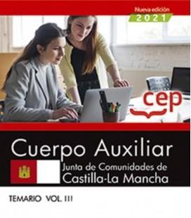 CUERPO AUXILIAR JUNTA DE COMUNIDADES DE CASTILLA LA MANCHA TEMARIO 03