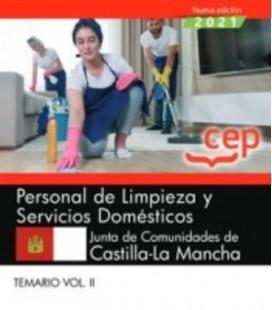 PERSONAL DE LIMPIEZA Y SERVICIOS DOMESTICOS CASTILLA MANCHA TEMARIO 02