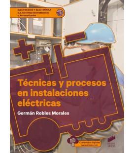TECNICAS Y PROCESOS EN INSTALACIONES ELECTRICAS CFGS
