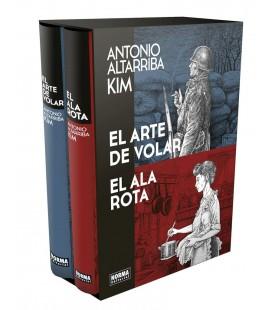COFRE COLECCIONISTA ARTE DE VOLAR+ALA ROTA