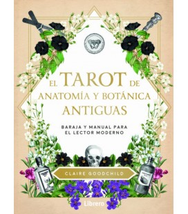 TAROT DE ANATOMIA Y BOTANICA ANTIGUAS (ESTUCHE LIBRO + CARTAS)